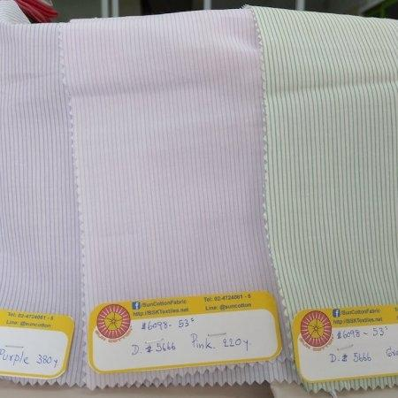 "6098 Cotton 53"" - Stripe #5666"