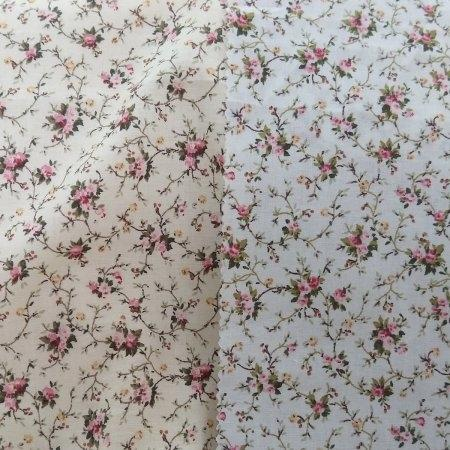 "6098 Cotton 42"" - Flower Print #689"