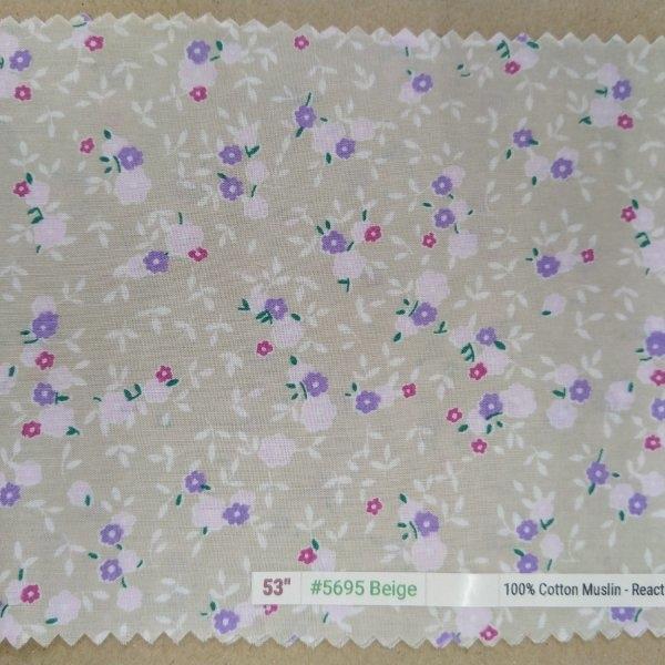 """6098 Cotton 53"""" - Flower #5695"""