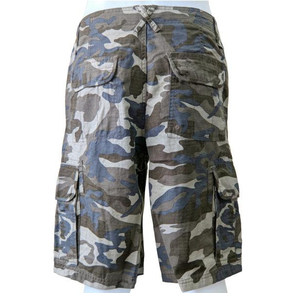 Cargo Shorts - Brown Camouflage