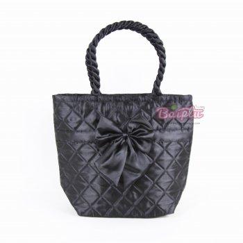 กระเป๋าโบว์ทรงแอล สายเกลียว Size (L) 159