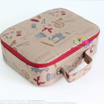กล่องผ้า ทรงแบน (no.63)