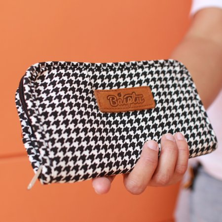 กระเป๋าเงินจูดี้ (ลายชิโนริดำ-ขาว) No.11