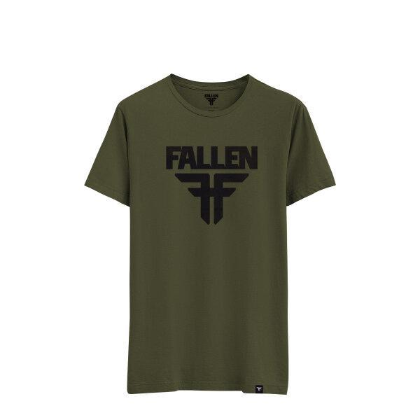 FALLEN - INSIGNIA Tee - ARMY GREEN