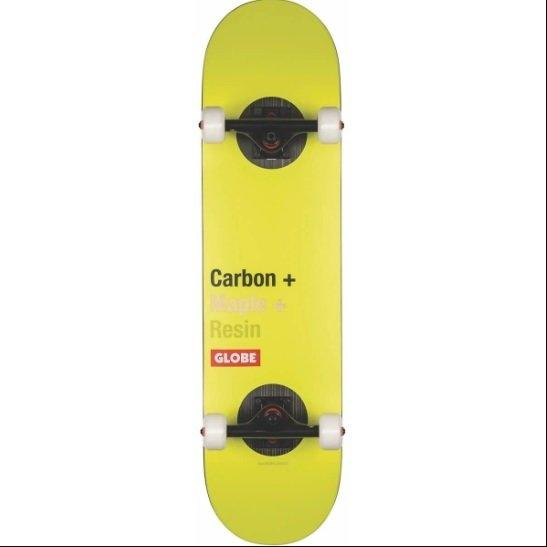 "GLOBE SKATEBOARD 8.0 - G3 Bar 8.0"" Impact/Toxic Yellow"