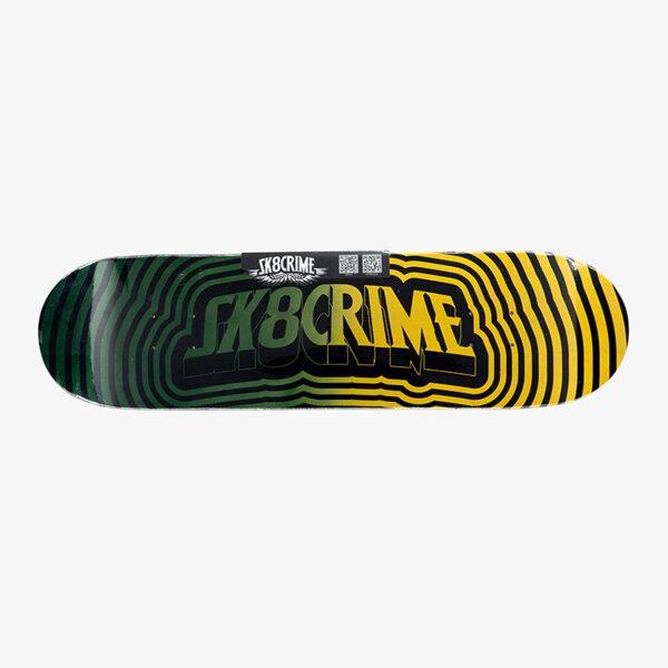 Sk8Crime 8.0 - Gradient Green 8.0