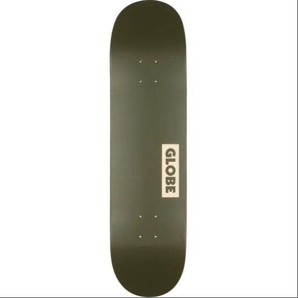"GLOBE SKATEBOARD 8.25 - Goodstock deck 8.25"" FATIGUE GREEN"