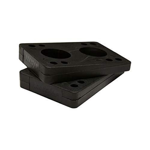 GLOBE – Slant Longboard Wedge Risers - Black - Angled Riser 1/4