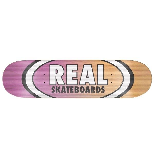 REAL DECK 8.38 : TEAM SHINE ON OVAL EMB 8.38