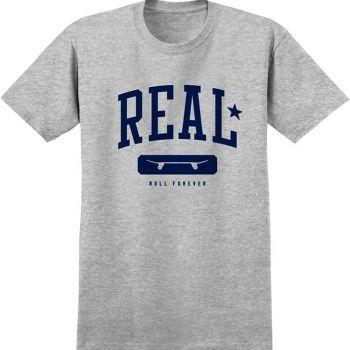 Real Skateboards Tee - Underclass ATH/NAVY