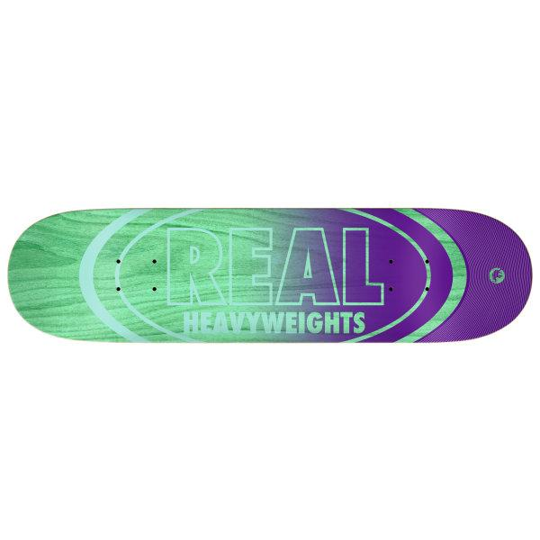 REAL DECK 8.38 : HEAVYWEIGHT PASTEL GREEN BOTTOM 8.38