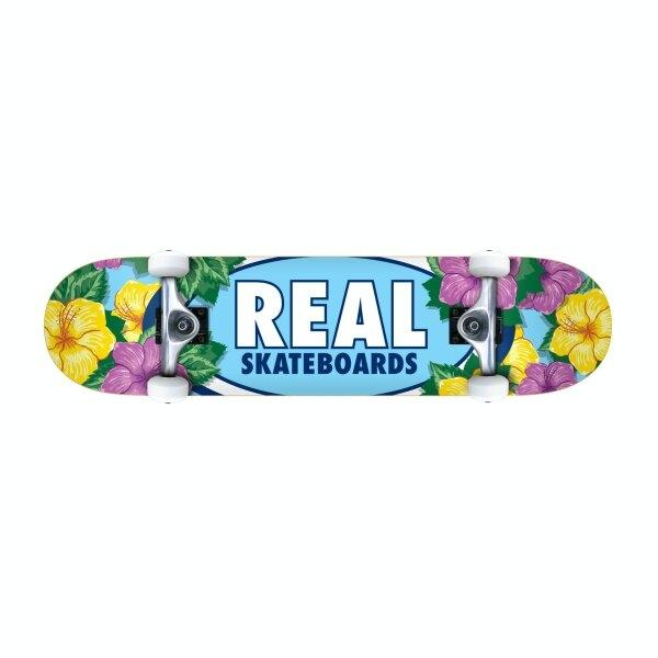 REAL SKATEBOARD : OVAL BLOSSOMS 8.0