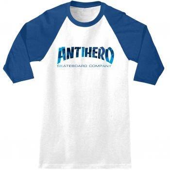 AntiHero Skateboards - Skate Co. Wht/Blu