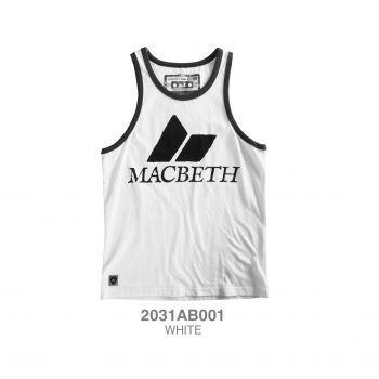 MACBETH TANKS - WHITE