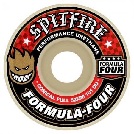 SPITFIRE F4 101D CONICAL FULL (RED PRINT)  53mm