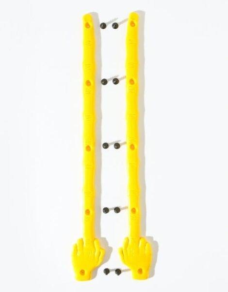 Enjoi The Bird Yellow Skate Rails