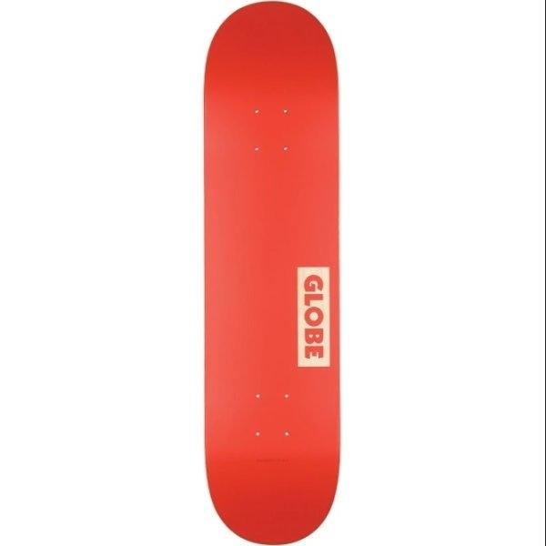 GLOBE SKATEBOARD 7.75 - Goodstock Deck 7.75 Red