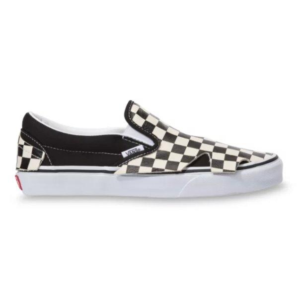 VANS SLIP-ON ORIGAMI - CHECKERBOARD/TRUE WHITE