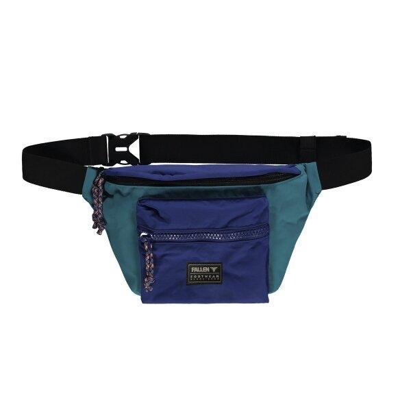 FALLEN : DUSTY CROSS BODY PACK - GREEN/BLUE