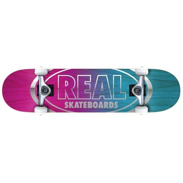 REAL SKATEBOARD 8.25 :  GOLDEN OVAL OUT 8.25
