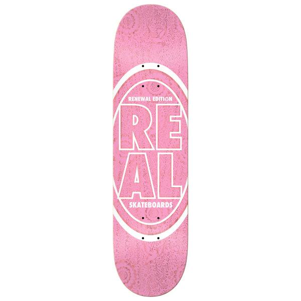 REAL DECK 8.06 : STACKED OVAL FLORAL RENEWAL 8.06