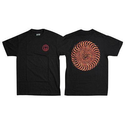 Spitfire Classic Swirl Embers Tshirt