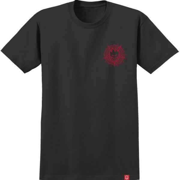 SPITFIRE :  PENTABURN DOUBLE -BLK/RED