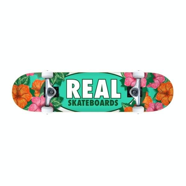 REAL SKATEBOARD : OVAL BLOSSOMS 8.25