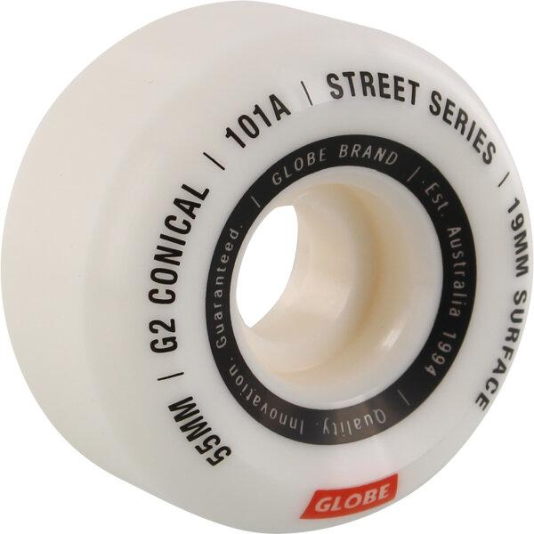 GLOBE SKATEBOARD 55mm -  G2 101 Conical Street Wheel 55mm