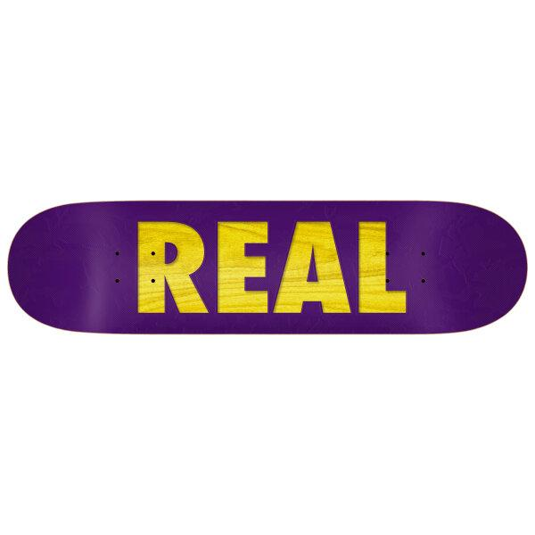 REAL SKATEBOARD 8.38 : BOLD REDUX - 8.38