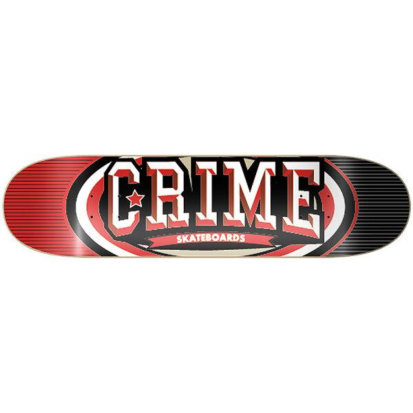 Sk8Crime - Red/Black Logo 8.0