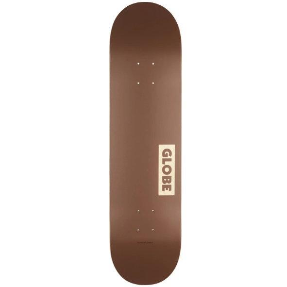 GLOBE SKATEBOARD 8.5 - Goodstock Deck 8.5 Clay