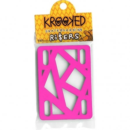 "KROOKED HOTPINK 1/8"" RISERS"