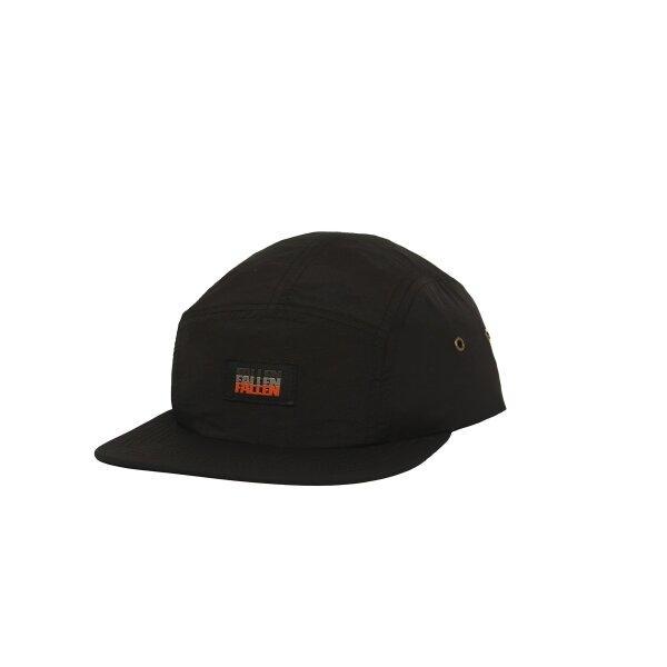 FALLEN : LABEL HAT BLACK/BLACK