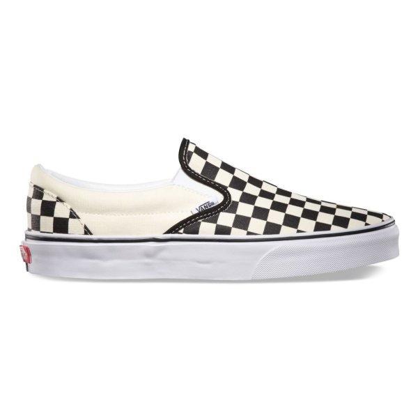 Vans SLIP-ON - Black&White Chckerboard