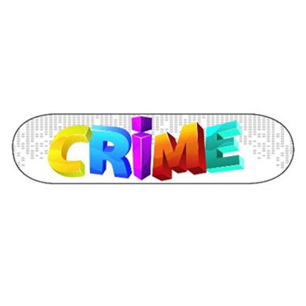 Sk8Crime - 3D White 8.0