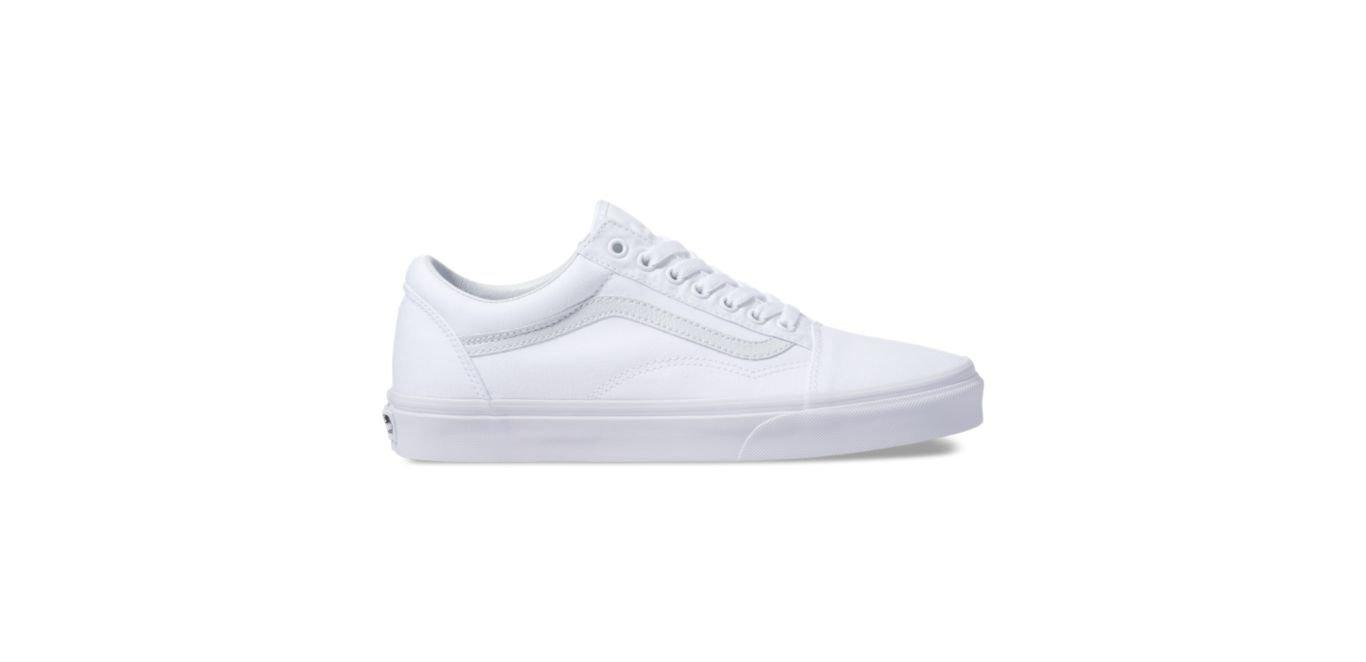 VANS CANVAS OLD SKOOL - TRUE WHITE