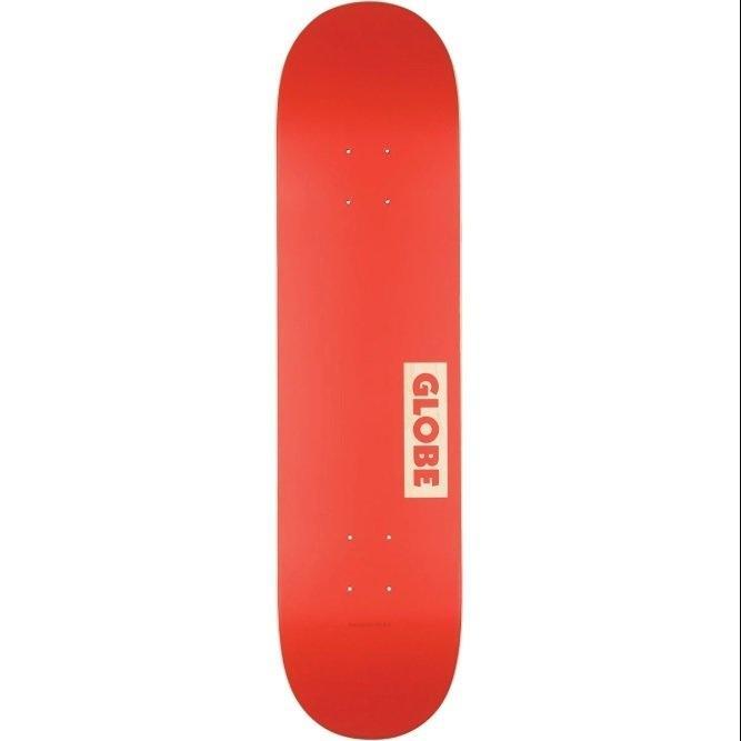 GLOBE SKATEBOARD 7.75 - Goodstock Deck 7.75 Red